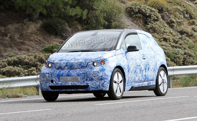 BMW i3 tiếp tục chạy thử nghiệm