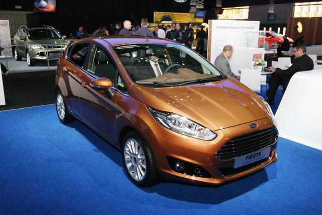 Ford Fusion và Fiesta 2013 ra mắt tại Paris 2012