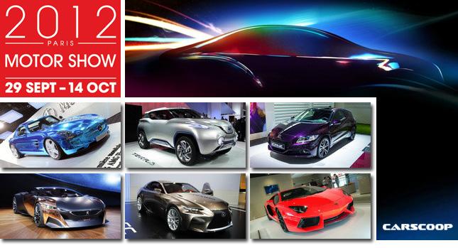 """10 mẫu xe """"hot"""" nhất Paris Motor Show 2012"""