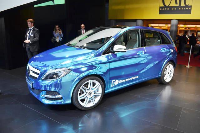 Mercedes B-Class Electric Drive sắp đến thị trường Mỹ