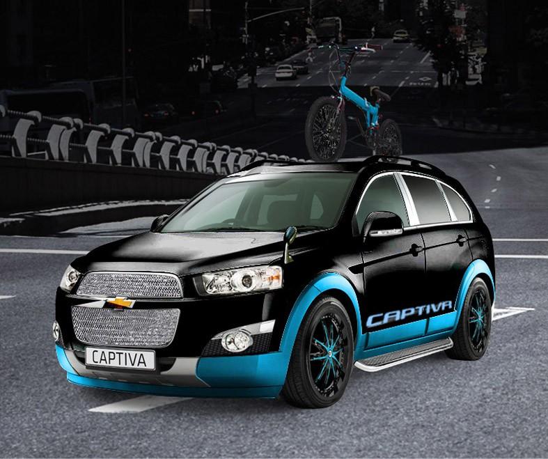 Chevrolet Sonic và Captiva concept ra mắt Tokyo Auto Salon