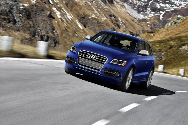 Audi SQ5 mạnh hơn ra mắt tại Detroit 2013