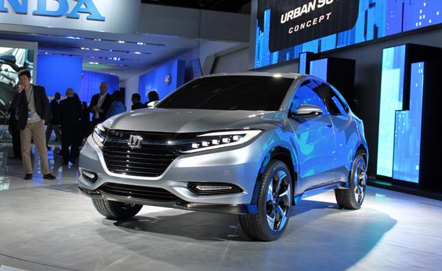 """Honda Urban SUV """"bằng xương bằng thịt"""""""