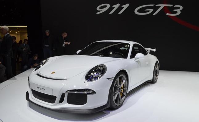 Porsche 911 GT3 2014 lần đầu lộ diện