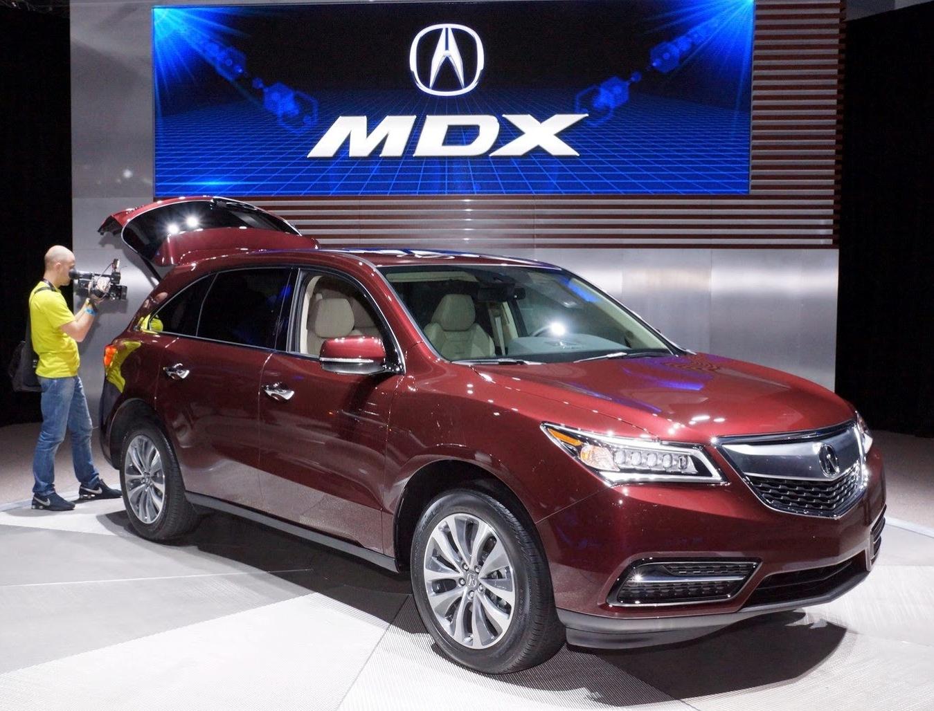 Acura MDX 2014 – lớn hơn và nhẹ hơn