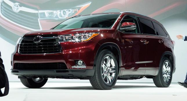 Toyota Highlander 2014 chính thức ra mắt