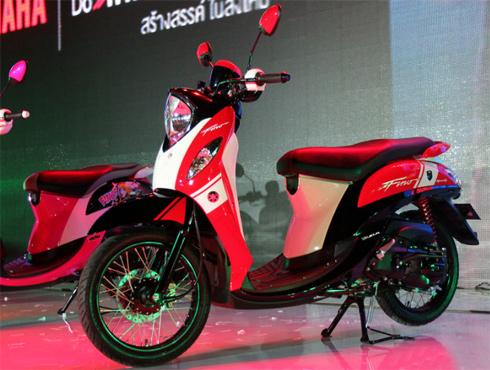 Yamaha ra mắt Mio Fino thế hệ mới