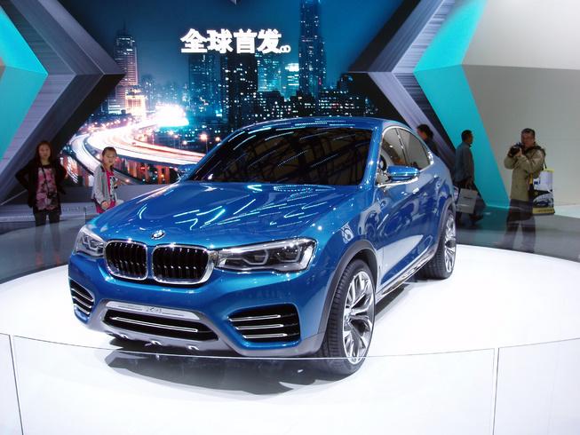 BMW X4 ra mắt tại Thượng Hải Motor Show 2013