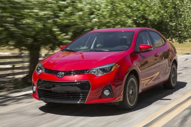 Hình ảnh chính thức của Toyota Corolla 2014