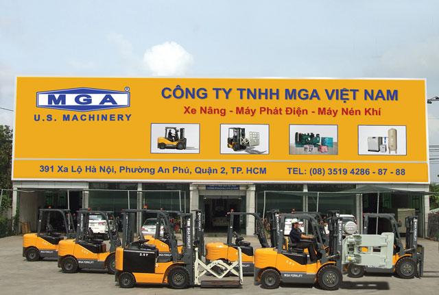 Xe nâng MGA FORKLIFT: Sản phẩm mạnh mẽ, giá cả tối ưu