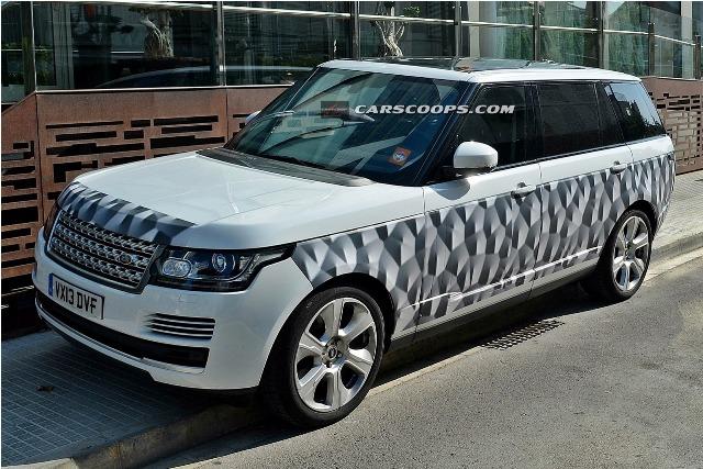 Phát hiện Range Rover dài lạ thường