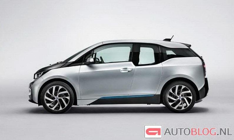 BMW i3 Electric Hatchback lộ ảnh nóng