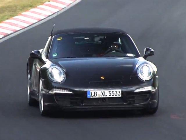 """Porsche lại """"lộ hàng"""" tại đường thử Nurburgring"""