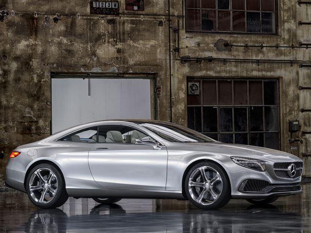Mercedes ra mắt S Class Coupe Concept
