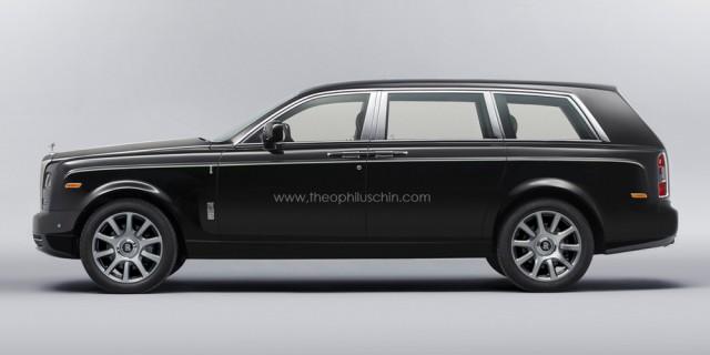 Rolls-Royce SUV chưa thể xuất hiện