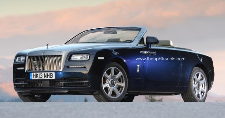 Rolls-Royce Wraith mui trần sẽ ra mắt vào 2015