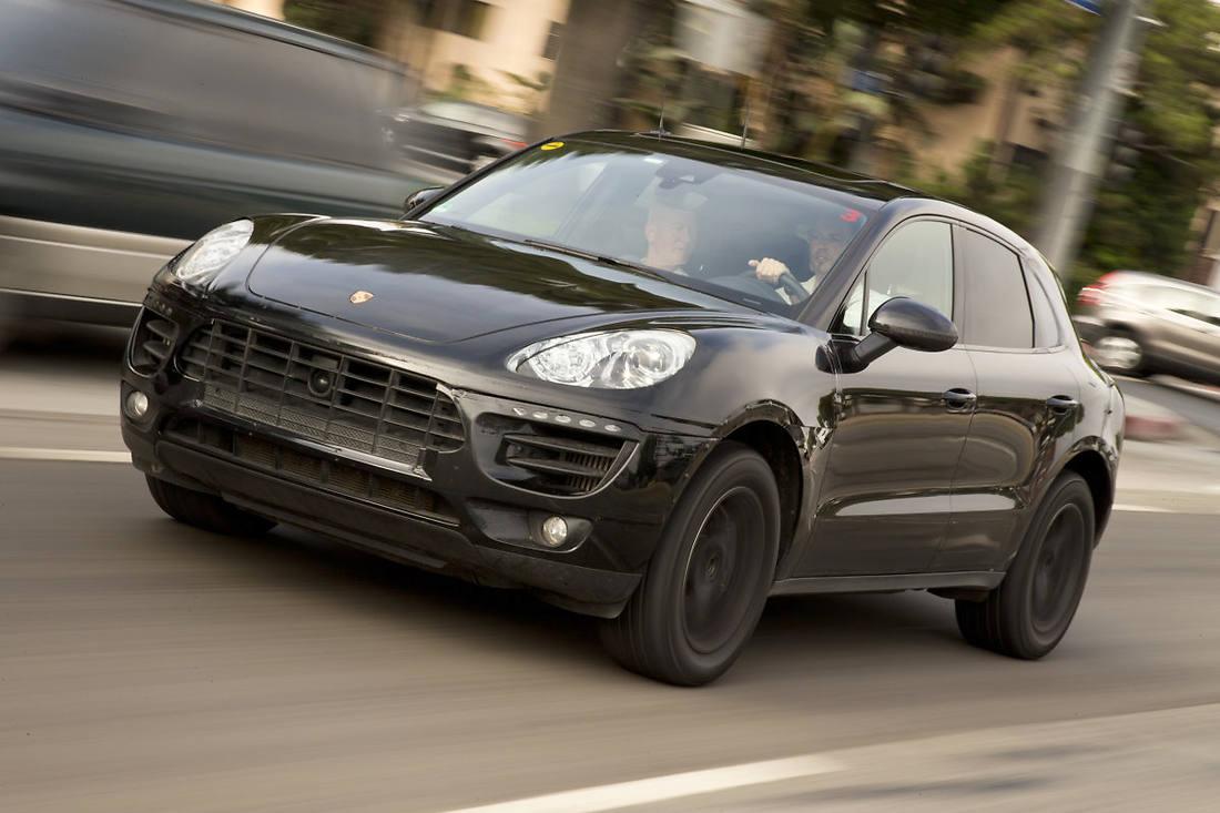 Porsche Macan 2014 lộ diện thông số kỹ thuật