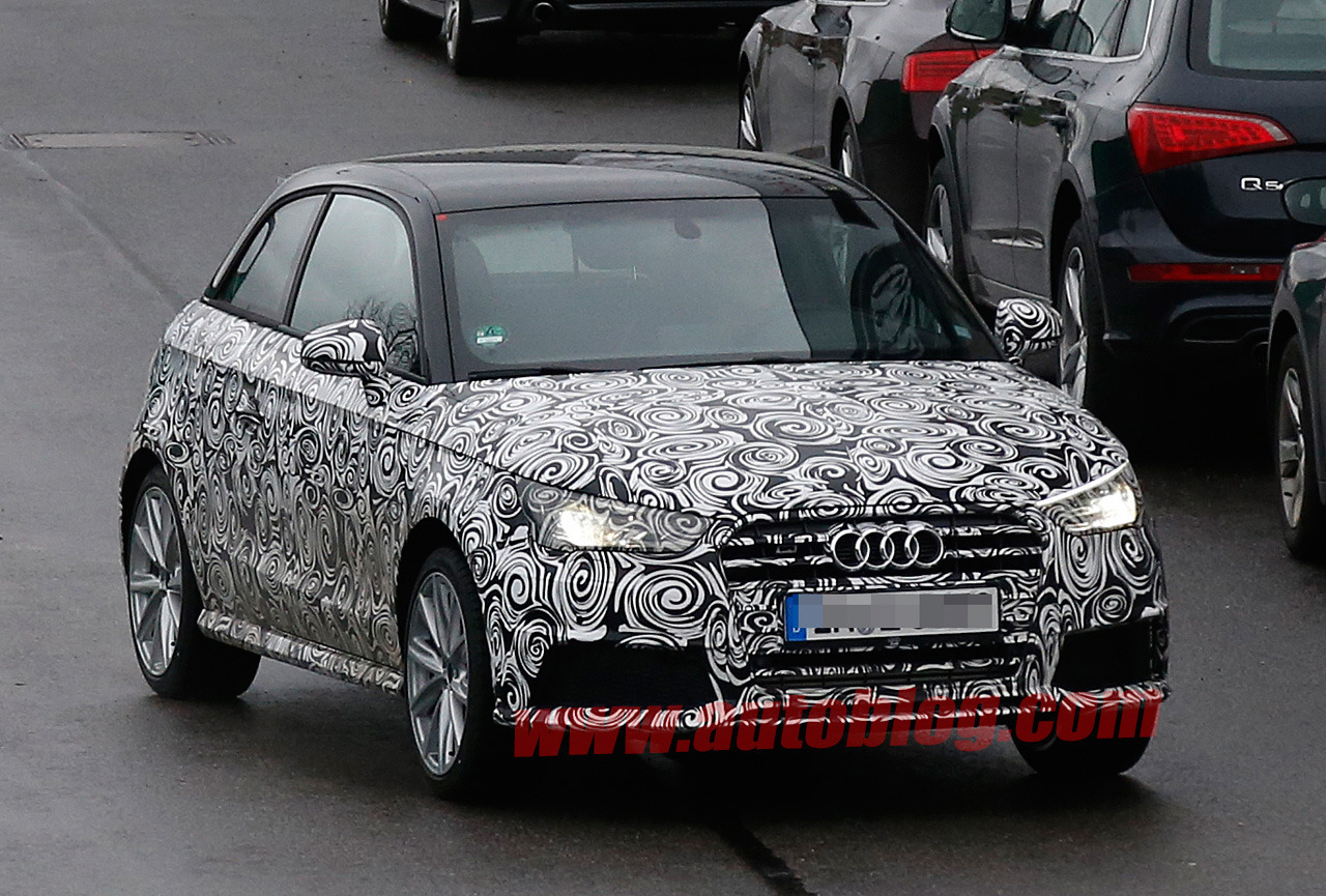 Audi S1 bị bắt gặp tại Đức