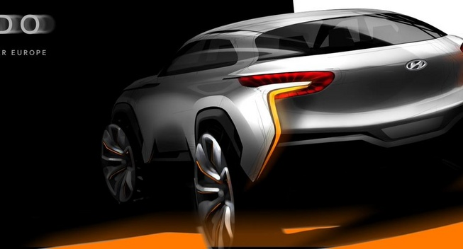 Hyundai công bố bản phác thảo của mẫu concept mới