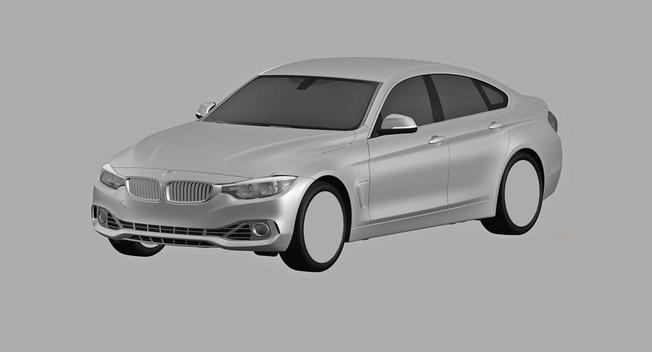 Rò rì hình ảnh BMW 4 Series Gran Coupe