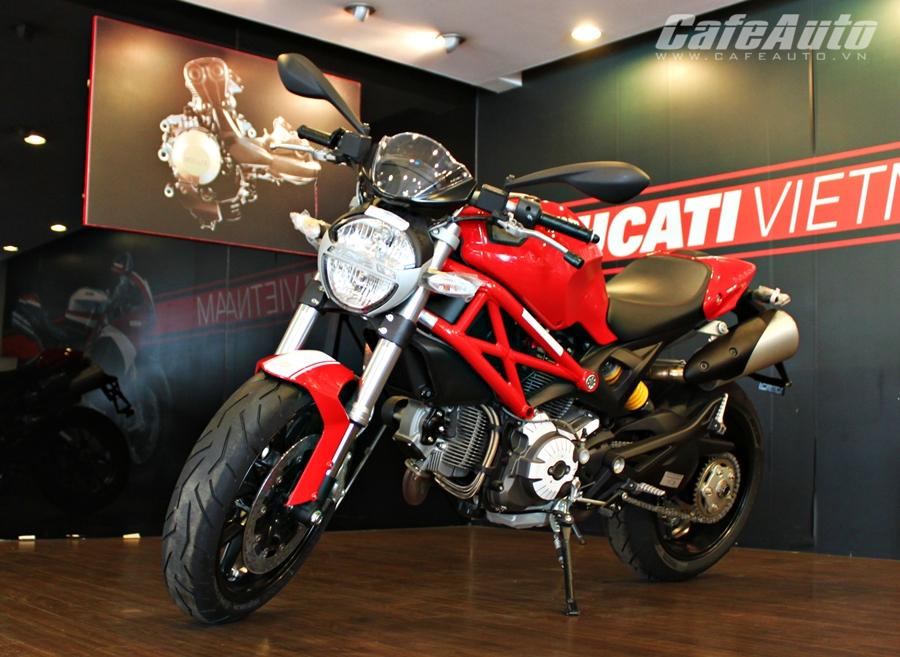 Cận cảnh Ducati Monster 796 2014 giá 380 triệu tại Việt Nam