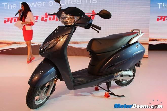 Honda ra mắt xe tay ga 125 phân khối mới