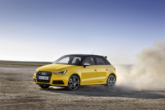 Audi S1 2014 sẽ ra mắt tại Geneva