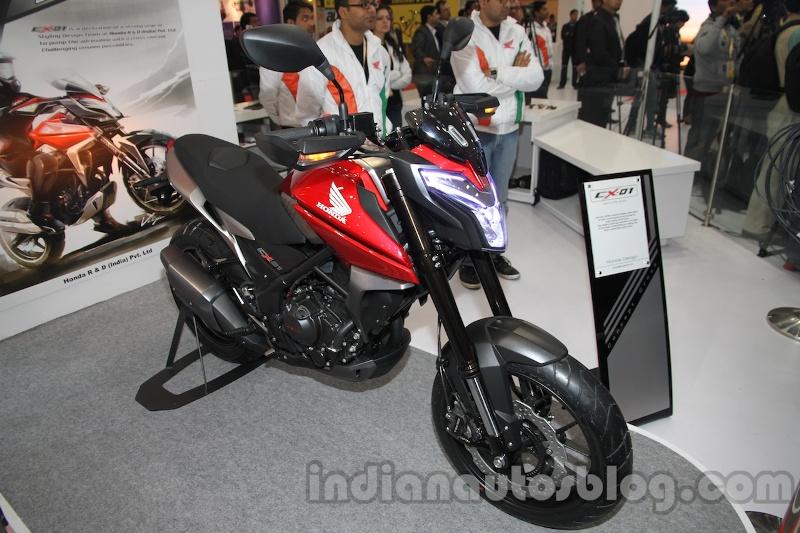 Cận cảnh Honda CX01 Concept ra mắt tại Ấn Độ