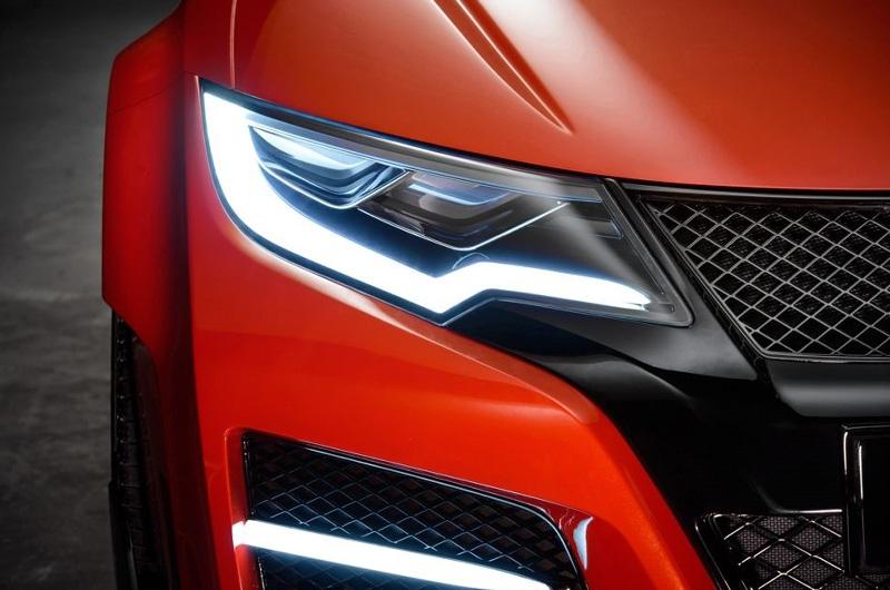 Honda Civic Type R Concept lộ diện trước ngày ra mắt