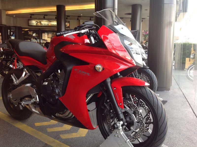 Honda CBR650F 2014 cập bến Thái Lan
