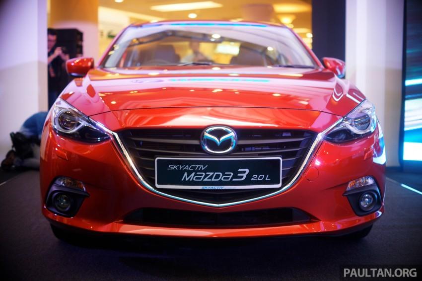 Mazda3 2014 ra mắt tại Malay