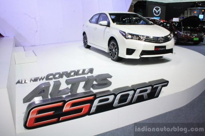 Bangkok Motor Show 2014: Corolla Altis chiếm lĩnh gian hàng Toyota