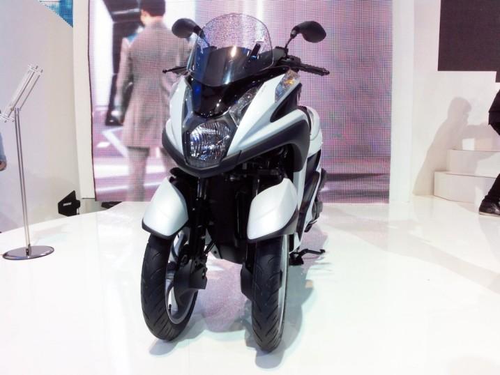 Bangkok Motor Show 2014: Xe tay ga ba bánh Yamaha TriCity lộ diện bản sản xuất