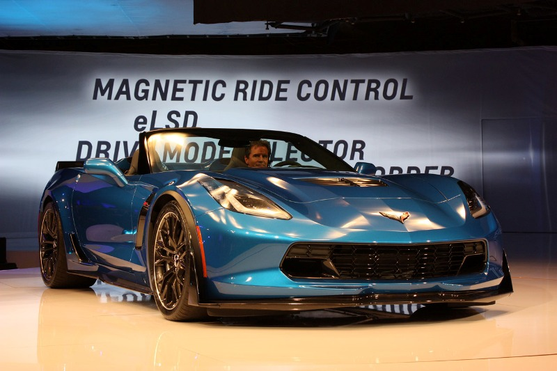 New York Auto Show 2014: Corvette Z06 Convertible hấp dẫn ở mọi góc độ