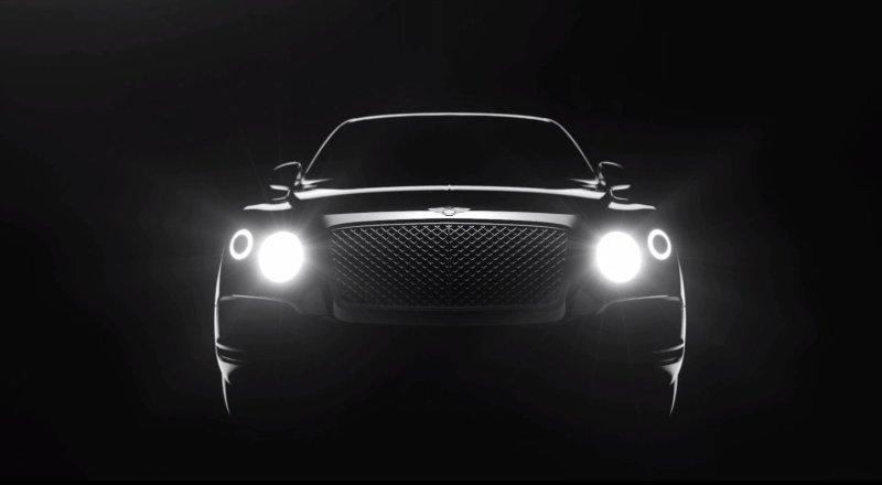 Bentley SUV 2016 lộ diện