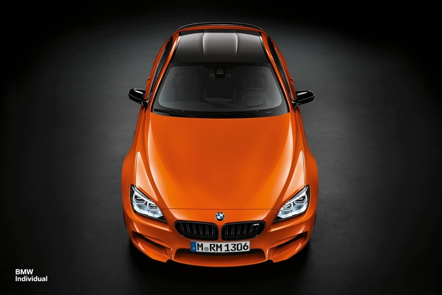 BMW M6 Coupe trong sắc cam nóng bỏng