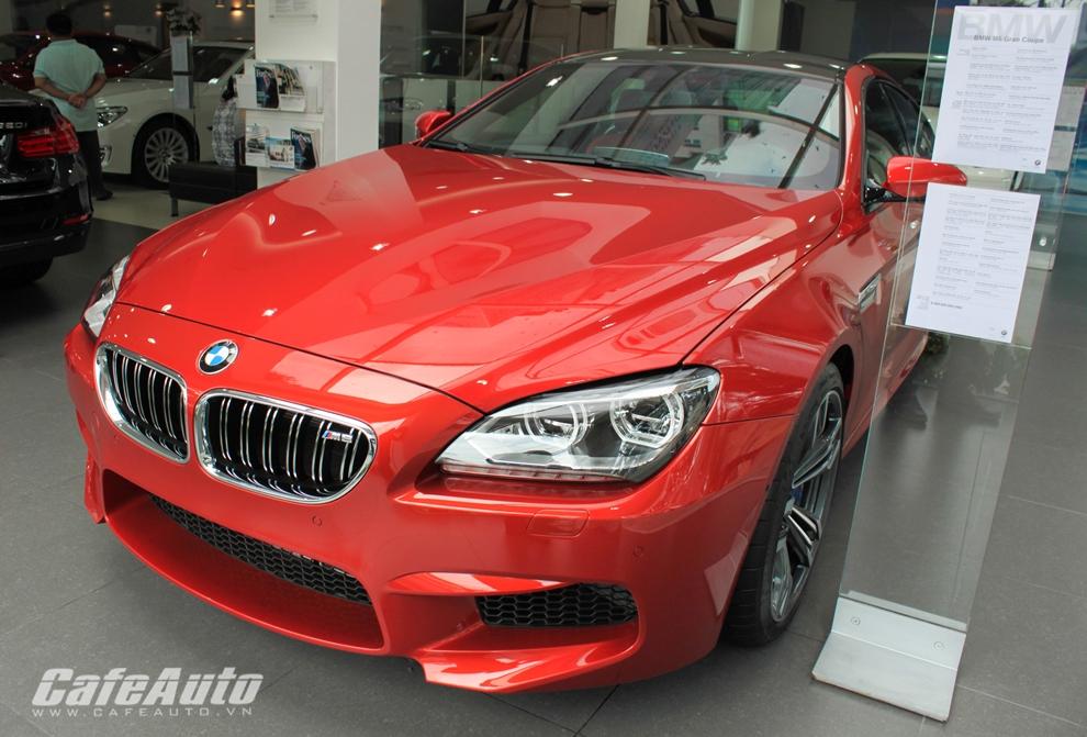 Cận cảnh BMW M6 Gran Coupe 2014 tại Việt Nam