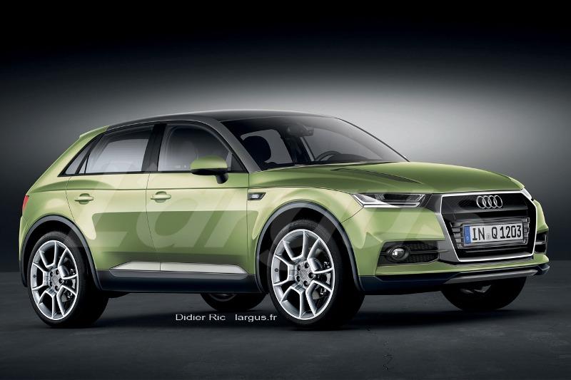 Lộ diện Audi Q1, đối thủ mới của BMW X1