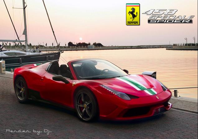Ferrari 458 Speciale Spider sẽ ra mắt tại Paris Motor Show