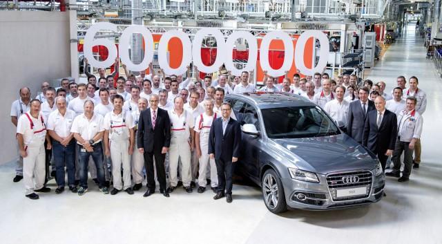 Chiếc Audi Quattro thứ 6 triệu xuất xưởng