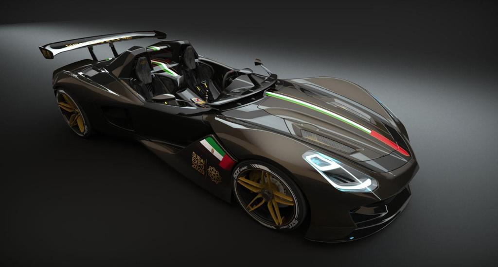 Siêu xe Dubai Roadster chuẩn bị ra mắt
