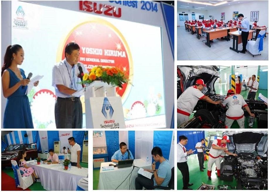 Isuzu Việt Nam tổ chức Hội thi tay nghề lần thứ 11