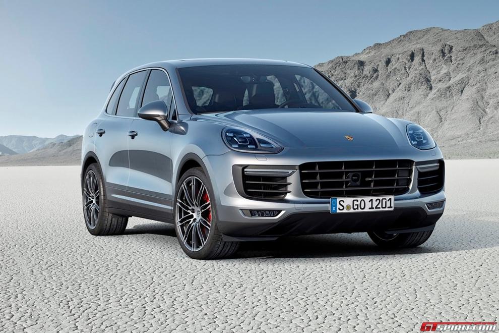 Porsche Cayenne 2015 chính thức lộ diện