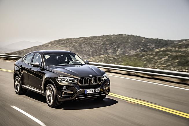 BMW X6 2015 giá 61,900 USD tại Mỹ