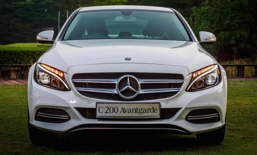 Mercedes-Benz C-Class 2015 ra mắt tại Malaysia, giá từ 1,88 tỷ đồng