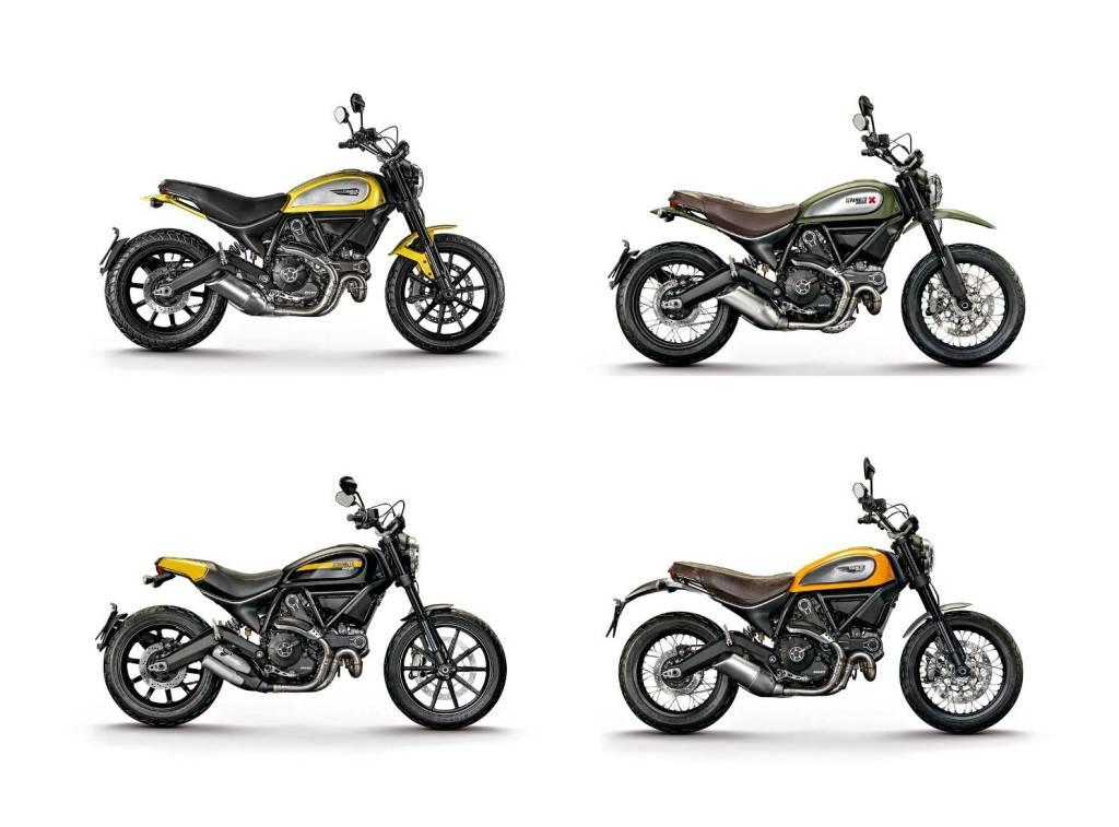 Ducati Scrambler chính thức ra mắt với 4 phiên bản