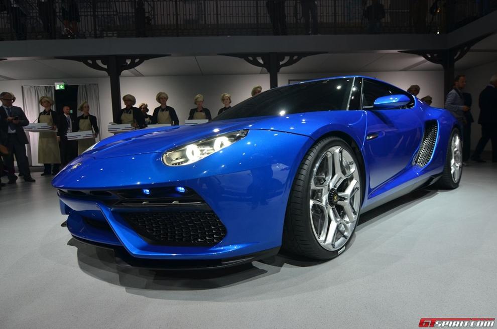 Siêu xe lai Lamborghini Asterion LPI910-4 Concept chính thức xuất hiện