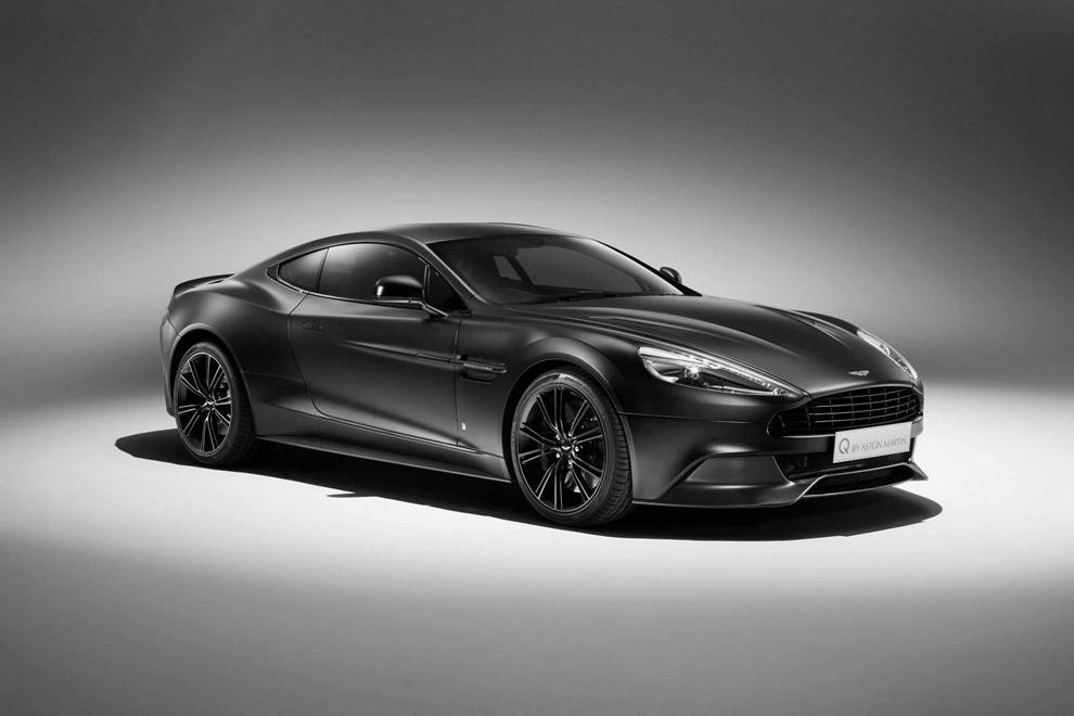 """Aston Martin tiết lộ siêu xe Vanquish bản """"Phản lực đen"""""""