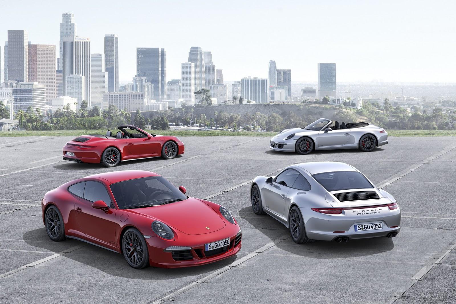 Porsche 911 Carrera GTS về Việt Nam giá từ 7,1 tỷ đồng