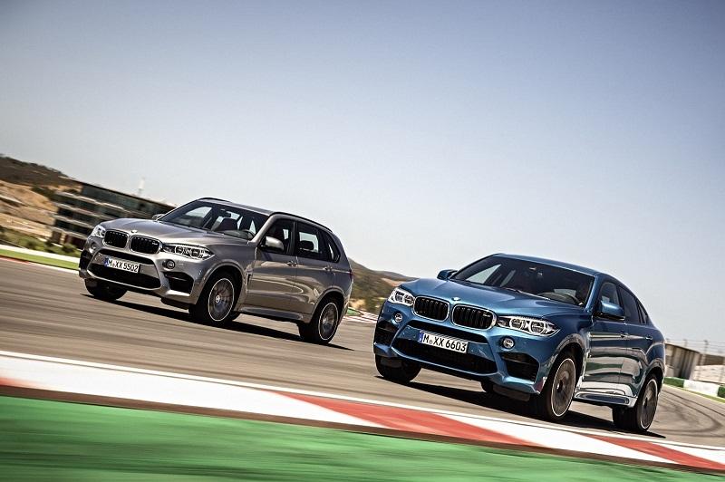 BMW gia tăng sức mạnh cho X5M và X6M 2015